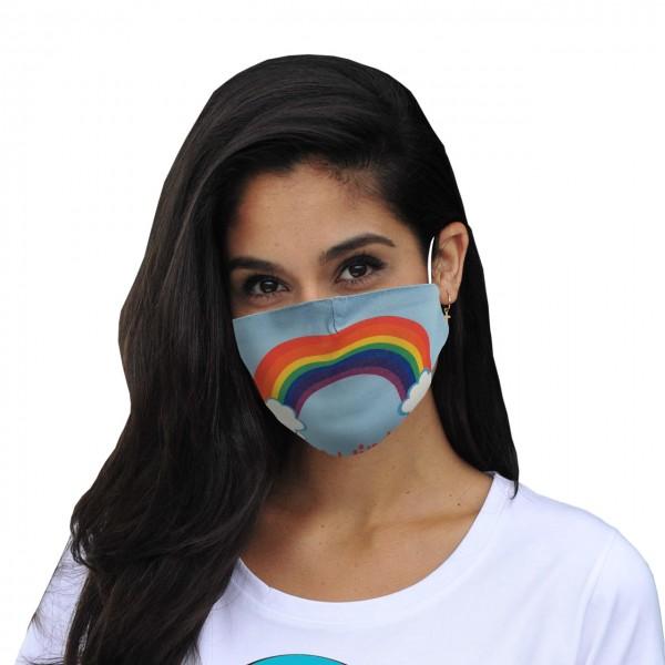 Masque buccal et nasal Tout ira bien