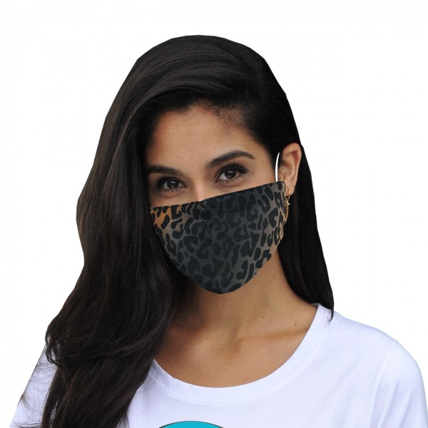 Mouth and nose mask Leopard