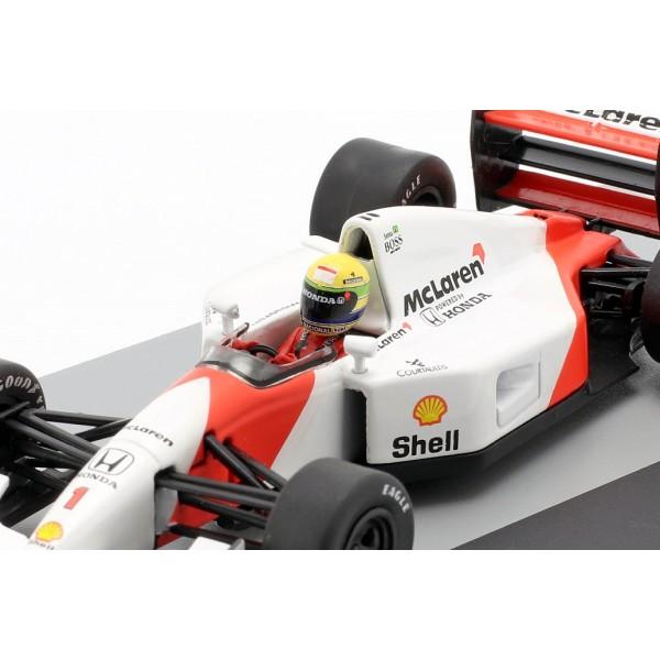 Ayrton Senna McLaren MP4/7 #1 Germany GP Formula 1 1992 1/43 Altaya