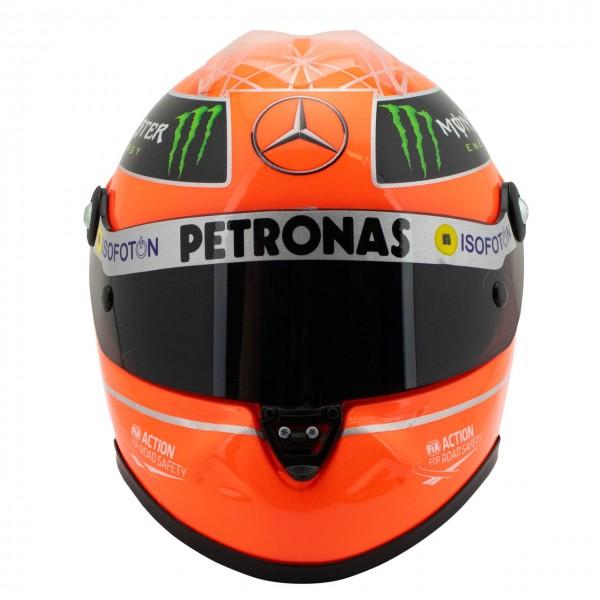 Michael Schumacher Helmet GP Formula 1 2012 1/2