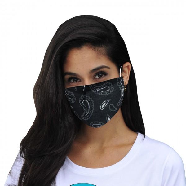Mund-Nasen Maske Paisley