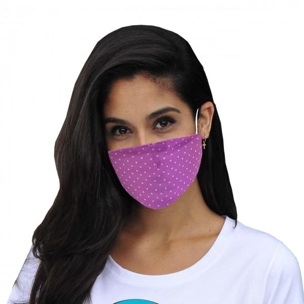 Mund-Nasen Maske Pünktchen