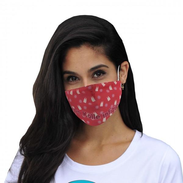Masque buccal et nasal von Kölle infiziert