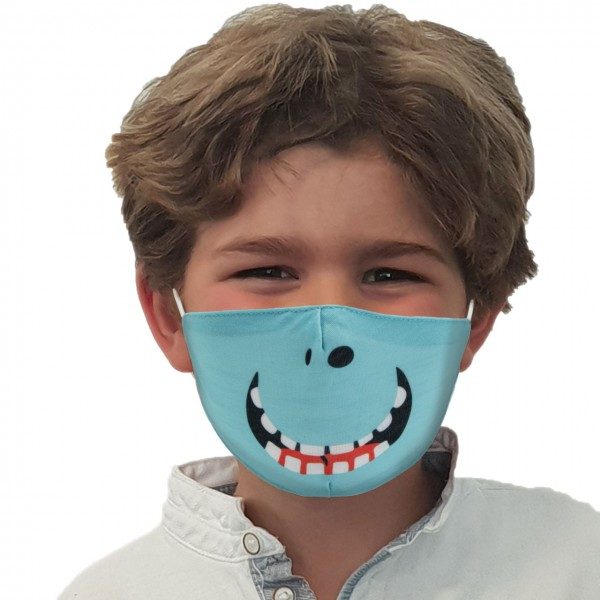 Mouth and nose mask Grinning cheek