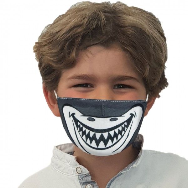 Maschera bocca e naso Squalo
