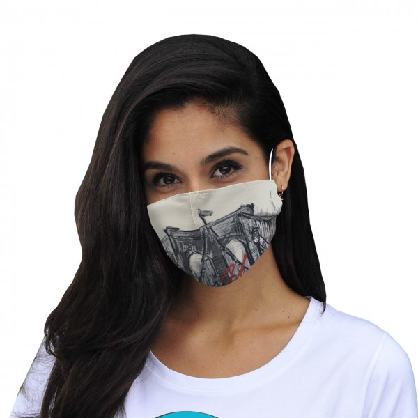 Máscara de boca y nariz Nueva York