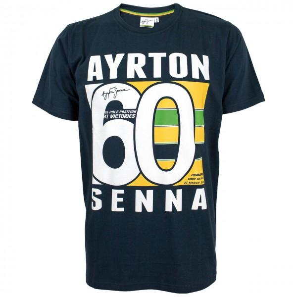 Ayrton Senna T-Shirt Brasil 60