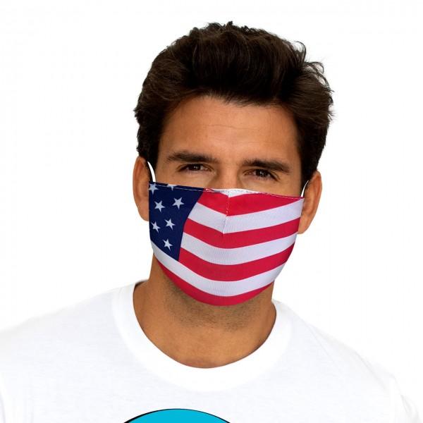 Masque buccal et nasal USA
