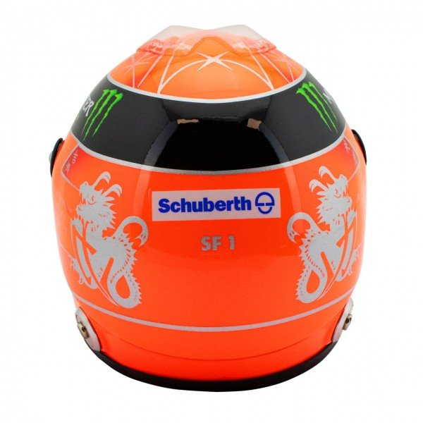 Michael Schumacher Casco Final GP Formel 1 2012 1:2