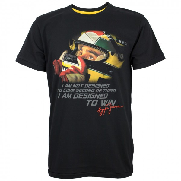 Ayrton Senna T-Shirt Designed To Win