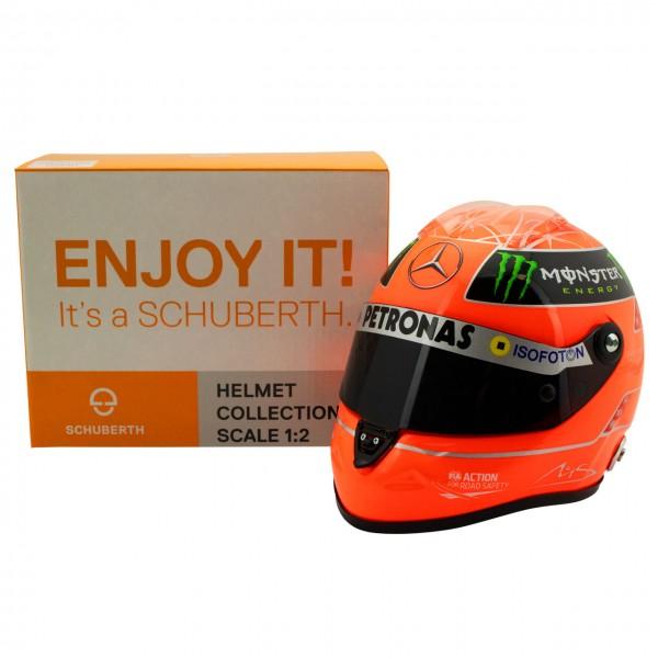 Casco Michael Schumacher Final GP Formel 1 2012 1:2