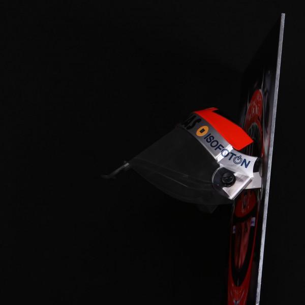 Michael Schumacher photo murale de visière avec visière de casque originale 2012 édition finale