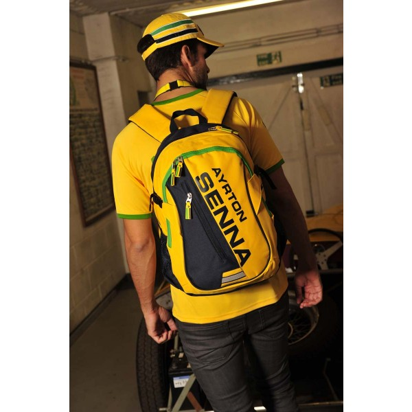 Ayrton Senna Backpack Helmet model