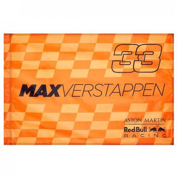 Red Bull Racing Team Driver Fan Flag Verstappen Orange