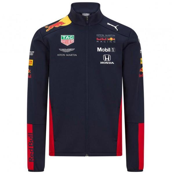 Red Bull Racing Team sponsor softshell jacket navy blue