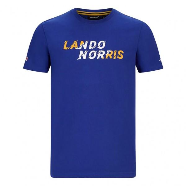 McLaren F1 Driver Graphic Kids T-Shirt Norris blue