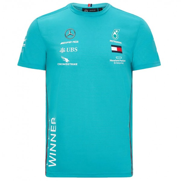 Mercedes-AMG Petronas Team race winner T-shirt green