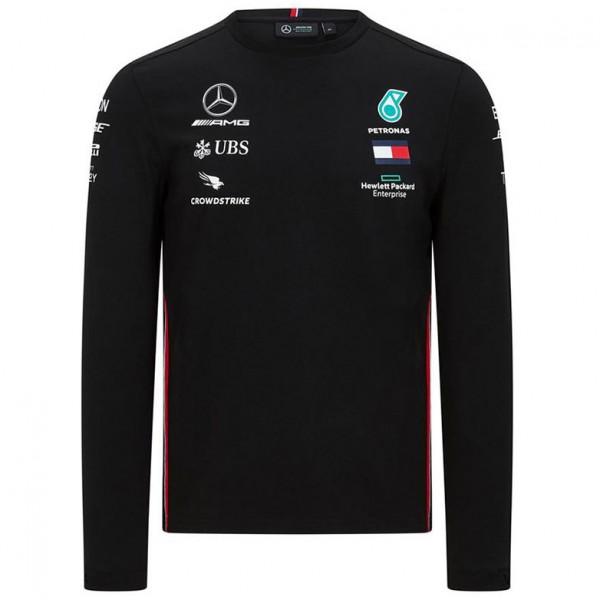 Mercedes-AMG Petronas driver long sleeve t-shirt black