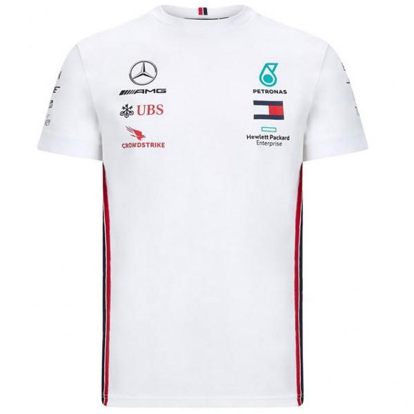 Mercedes-AMG Petronas Team Sponsor T-Shirt white