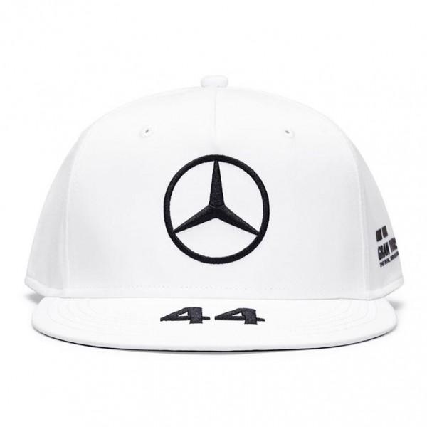 Mercedes-AMG Petronas Driver Cap Hamilton white Flat Brim