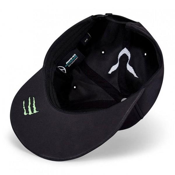Mercedes-AMG Petronas Driver Cap Hamilton black Flat Brim
