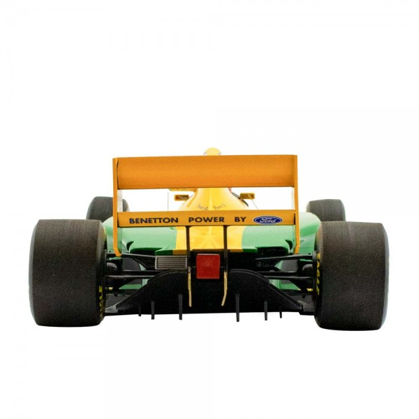 Michael Schumacher Benetton Ford B193B Vainqueur du GP du Portugal 1993 1/18