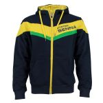 Ayrton Senna Hoody Racing front