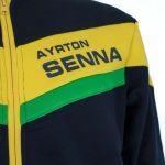 Ayrton Senna Hoody Racing detail 1
