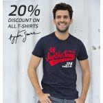Summer Sale - Ayrton Senna T-Shirts 20% off
