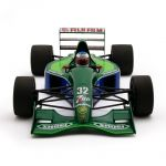 Michael Schumacher Jordan Ford 191 First F1™ Grand Prix Race Spa 1991 1/18