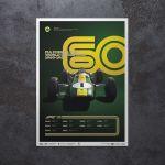 Poster Formula 1 Decades - 60s Team Lotusi