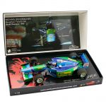Michael Schumacher Benetton Ford B194 Weltmeister 1994 1:18