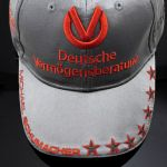 Michael Schumacher Personal Cap 300. GP 2012 Platin Edition