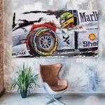 Artwork Ayrton Senna McLaren Cockpit #0002