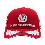 Michael Schumacher Gorra World Champion 2000 Limited Edition rrojo
