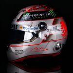 Michael Schumacher Réplique du Casque Platinum 1/1 Spa 300e GP 2012