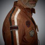 Gulf Racing Jacket dark cognac