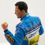 Michael Schumacher Figure Deuxième championnat du monde de F1 1995 1/10