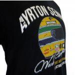 Ayrton Senna T-Shirt World Champion detail