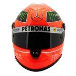 Michael Schumacher Casco Final GP Formel 1 2012 1:2