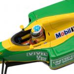 Michael Schumacher Minichamps Benetton Ford B192 cockpit
