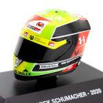 Mick Schumacher miniature helmet 2020 1/8
