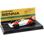 Ayrton Senna McLaren Ford - Test Silverstone