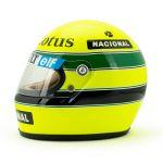 Ayrton Senna Helmet 1985 Scale 1:2