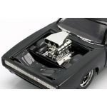 Fast & Furious Dom`s Dodge Charger R/T 1970 black 1/24