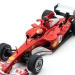 Michael Schumacher Ferrari F2004 Vainqueur Japan GP F1 2004 1/43