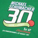 Michael Schumacher Kapuzenpullover Erstes GP-Rennen 1991