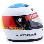 Michael Schumacher Casque Première Course de GP 1991 1/2