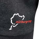 Nürburgring Hoodie Nordschleife grey