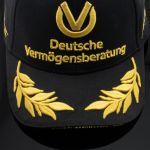 Michael Schumacher Personal Cap 20 ans de Formule 1 Édition noire